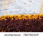 beautiful rusty texture | Shutterstock . vector #780782329