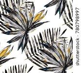 watercolor seamless pattern... | Shutterstock . vector #780798997