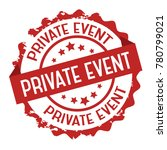 private event text stamp . sign.... | Shutterstock .eps vector #780799021