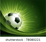 green soccer background...