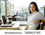 portrait of a young asian... | Shutterstock . vector #780803785
