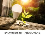 growth business concept  coin... | Shutterstock . vector #780809641