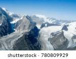 aerial view of glaciers in... | Shutterstock . vector #780809929