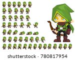 archer animated character for... | Shutterstock .eps vector #780817954