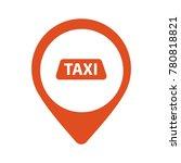 taxi  cab vector logo  design.... | Shutterstock .eps vector #780818821
