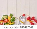 bell pepper with measuring tape ...   Shutterstock . vector #780822049