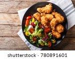 deep fried chicken wings in... | Shutterstock . vector #780891601