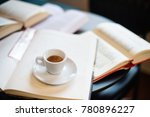 cup of espresso among a lot of... | Shutterstock . vector #780896227