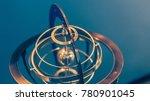 nautical brass globe | Shutterstock . vector #780901045