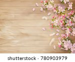 vector background with spring... | Shutterstock .eps vector #780903979