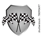 race winner emblem | Shutterstock .eps vector #78090697