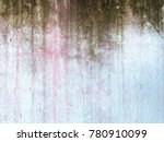 dirty fungus and mold on old... | Shutterstock . vector #780910099