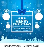 vector stock merry christmas... | Shutterstock .eps vector #780915601