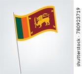 flag of sri lanka   sri lanka... | Shutterstock .eps vector #780923719