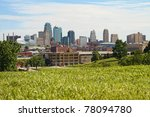 a horizontal image of downtown... | Shutterstock . vector #78094780