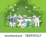 nature landscape of forest and... | Shutterstock .eps vector #780959317