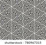 vector seamless lines pattern.... | Shutterstock .eps vector #780967315