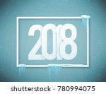happy new year 2018 | Shutterstock . vector #780994075
