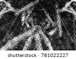 black and white round spots... | Shutterstock . vector #781022227