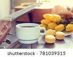 beautiful spring music... | Shutterstock . vector #781039315
