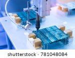 soldering iron tips of... | Shutterstock . vector #781048084