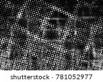 black and white round spots...   Shutterstock . vector #781052977
