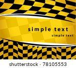 checkered background. eps10   Shutterstock .eps vector #78105553