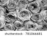 flower and gift for love moment | Shutterstock . vector #781066681