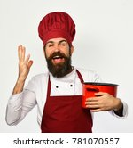 Cook With Excited Face In...