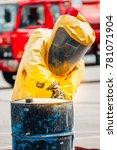 firefighter training protect...   Shutterstock . vector #781071904