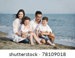 happy young family have fun and ... | Shutterstock . vector #78109018