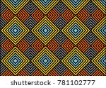 vintage abstract pattern | Shutterstock .eps vector #781102777