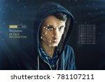 personal identification method...   Shutterstock . vector #781107211