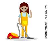 cartoon flat illustration  ...   Shutterstock .eps vector #781139791