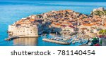 Aerial Townscape Of Dubrovnik...