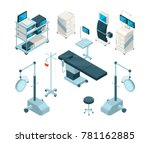 isometric illustrations of... | Shutterstock .eps vector #781162885