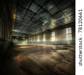 abandoned gym with cyrillic... | Shutterstock . vector #78120661