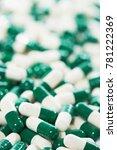 blue capsule pills medicine