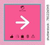 arrow next icon | Shutterstock .eps vector #781226545