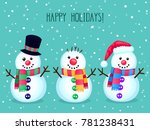 Christmas Vector Greeting Card...