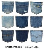 Collection Of Different Jeans...