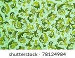 vintage wallpaper   floral...   Shutterstock . vector #78124984
