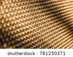 background. gold diagonal grid ... | Shutterstock . vector #781250371