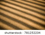 concrete background with lined... | Shutterstock . vector #781252234