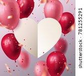 vector stock holiday... | Shutterstock .eps vector #781255291