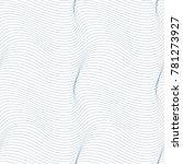 geometric seamless pattern ... | Shutterstock . vector #781273927