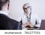 i'm waiting for an answer.... | Shutterstock . vector #781277251