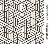 vector seamless stripes pattern.... | Shutterstock .eps vector #781289221
