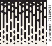 vector seamless irregular lines.... | Shutterstock .eps vector #781289389