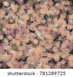 abstract background in pastel... | Shutterstock . vector #781289725